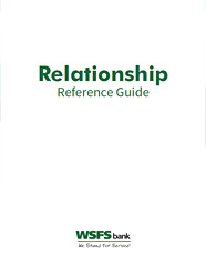 WSFS Bank Relationship Reference Guide